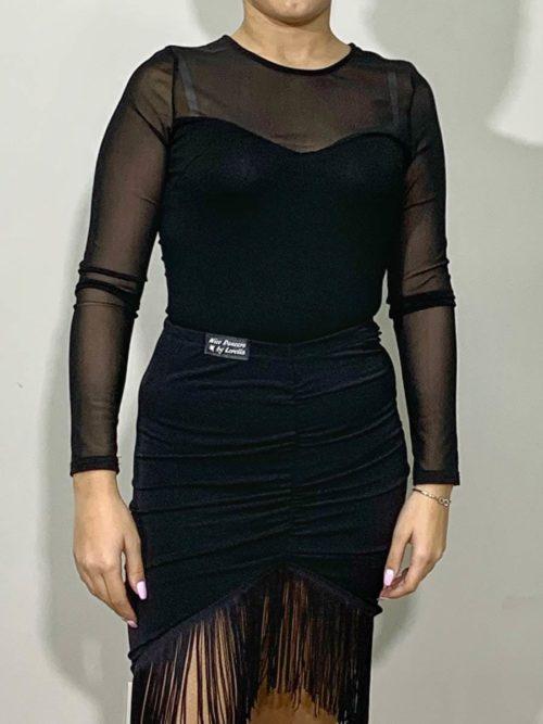 Body manica lunga latino americano donna